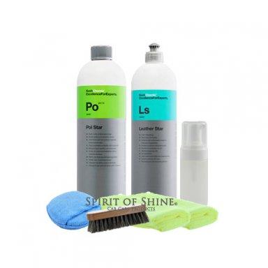 koch chemie leather kit 1l spirit of shine. Black Bedroom Furniture Sets. Home Design Ideas
