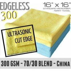 Edgeless 300 Jaune 40x40cm - The Rag Company